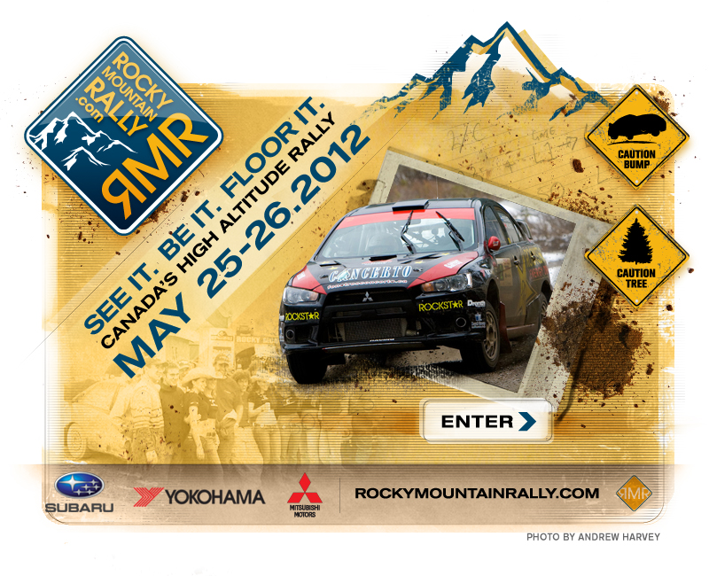 Rocky Mountain Rally - Canadian Rally Championship Calgary Alberta