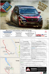 Rocky Mountain Rally - Spectator Guide